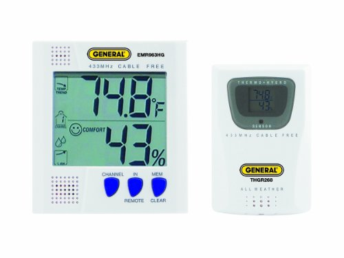 General Tools EMR963HG Wireless Thermo Hygrometer