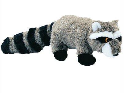 Pet Lou RAC-23 Colossal Dog Chew Toy, 23-Inch Raccoon (Toys Raccoon Plush Dog)