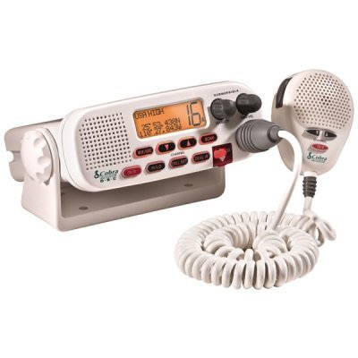 JAYBRAKE MR F45-D Cobra Mr F45-D Marine Class-D Dsc Technology Fixed Mount 25-Watt Vhf Radio White