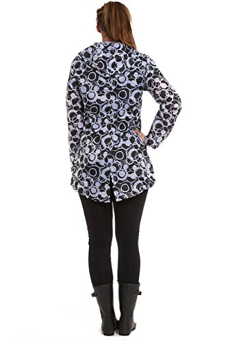 Parka Femme Hari Circles Imperméable Blanc Deals Pour 5nwwU7qOp