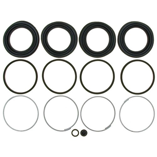 Brake Caliper Seal (ACDelco 18H1170 Professional Front Disc Brake Caliper Boot and Seal Kit with Boots, Seals, Washer, and Cap)