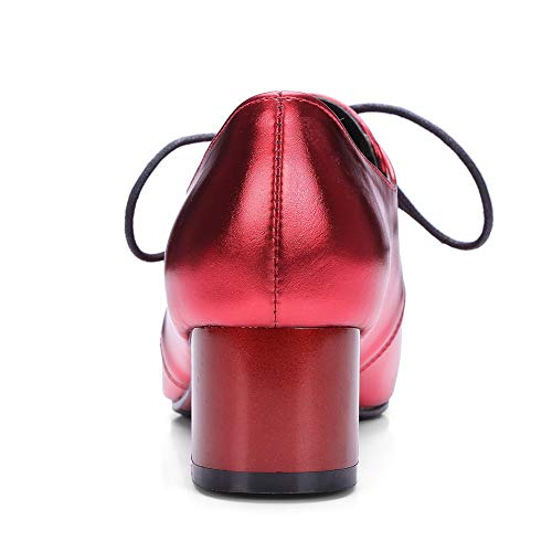 Rouge MMS06328 Red Sandales EU 5 36 Compensées Femme 1TO9 ZxHUZI