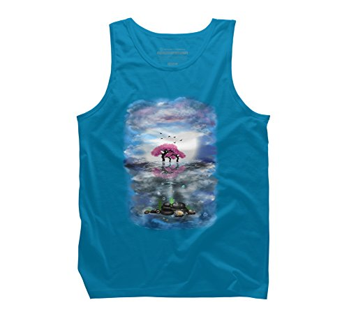 flowering-trees-and-treasures-mens-graphic-tank-top-design-by-humans