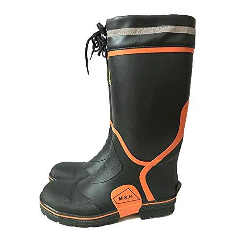 Boot del lavoro Stab Stivali Acciaio Anti Hunter ad Boots 42 in EU Protezione 2 Male Bottom gomma Dimensione alta 3 Testa sotterranei Minatori Scarpe Stivali acqua Acciaio 6xYw6nzrZq