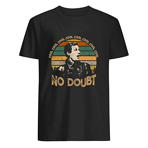 USA 80s TEE Cool Cool Cool No Doubt Shirt Funny Black