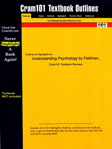 Studyguide for Essentials of Understanding Psychology by Feldman, ISBN 9780072965032 (Cram101 Textbook Outlines)