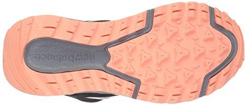 New Balance Womens Wt590v2 Trail Running Scarpa Nero / Bagliore Alba / Acciaio / Oro Rosa