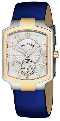 Philip Stein Classic Square Womens Watch - White