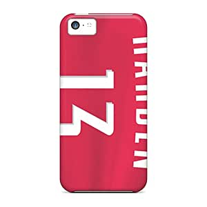 Durable Protector Case Cover With Houston Rockets Hot Design For Iphone 5c