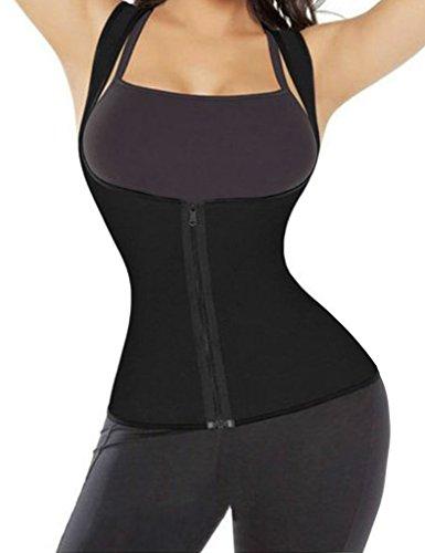 Lelinta Hot Neoprene Sweat Sauna Hot Body Shapers Tank Top Yoga Slimming Vest by Lelinta