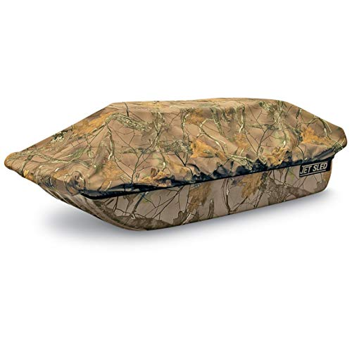 Shappell Camo Ice Fishing Jet Sled 1 with Sled Travel -