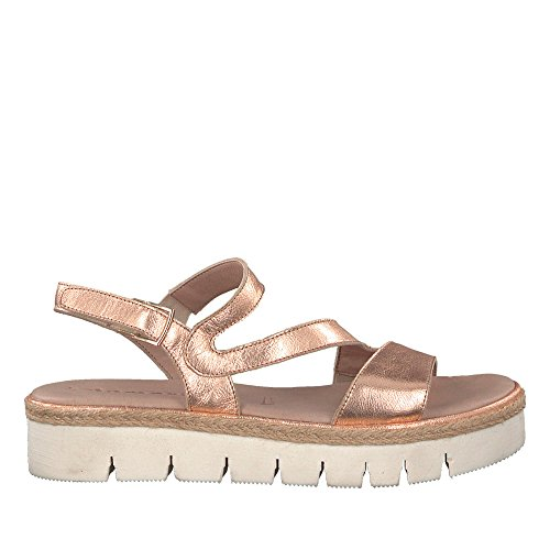 Metallic Sandal Ladies 952 20 1 Rose 28706 Rosa Tamaris Ox0qRwCR