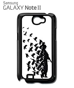 Banksy Soldier Peace Pigeons War Mobile Cell Phone Case Samsung Note 2 White hjbrhga1544