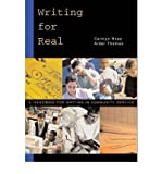 img - for [(Writing for Real: A Handbook for Writing in Community Service)] [Author: Carolyn Ross] published on (October, 2002) book / textbook / text book