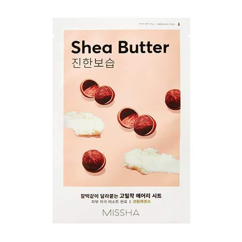 Missha Airy Fit Sheet Mask (Shea Butter - Deep Moisture) 7 pcs