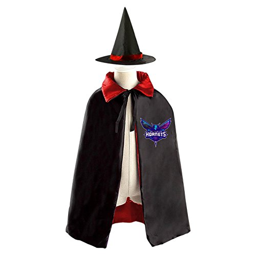 Hornets Children Costumes for Halloween Sorcerer/Witch Costume with Hat and Cloak