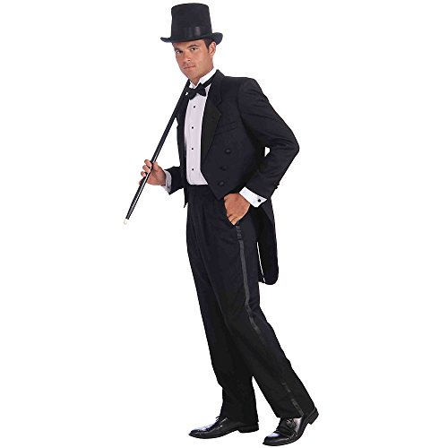 Vintage Hollywood Tuxedo Adult Costumes (Forum Novelties Mens Plus Vintage Hollywood Tuxedo Costume)