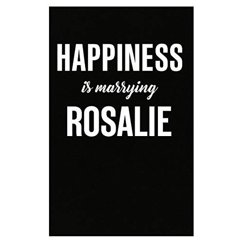 (Inked Creatively Happiness is Marrying Rosalie Poster)