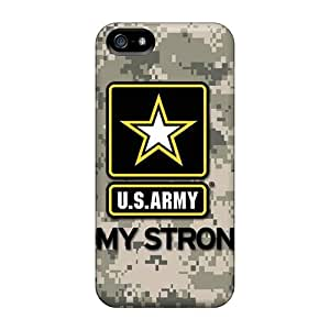 New Fashion Cases - Army Skin - Covers For Iphone 5/5s