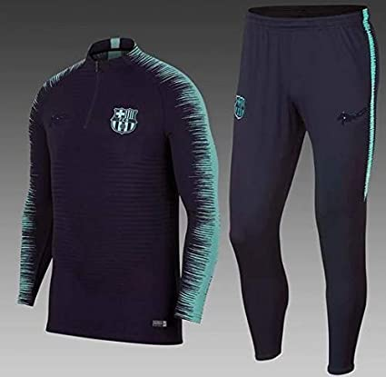 reputable site d1866 8803b Buy aaDDa Barcelona Blue Training Suit 2018-19 (S) Online at ...
