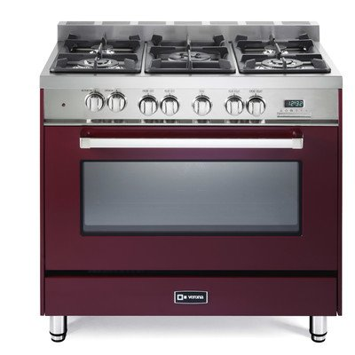 4 Burner Dual Fuel Range - 4