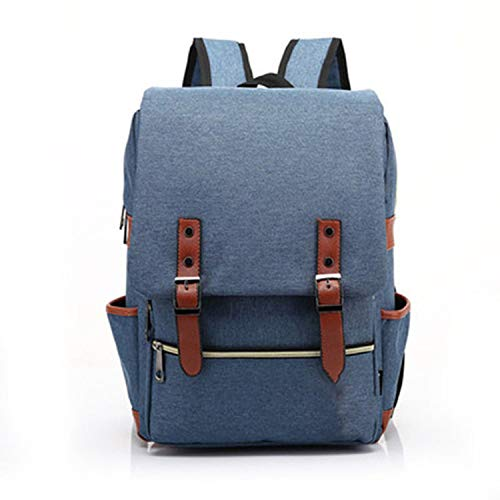 Fashion Vintage Laptop Backpack Women Canvas Men Travel for sale  Delivered anywhere in USA