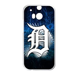 SANLSI Detroit Tigers Cell Phone Case for HTC One M8