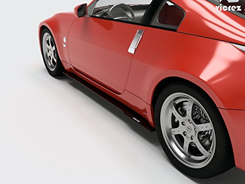 Vicrez Nissan 350z 2003-2008 Side Skirt Splitters vz100595