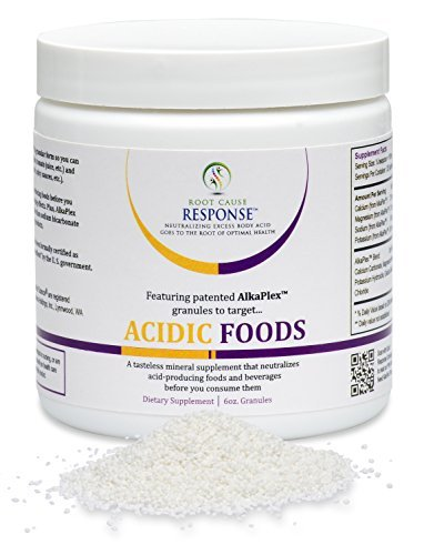 Acidic Foods - 6-oz Granules: guaranteed, scientific-breakthrough AlkaPlex(R