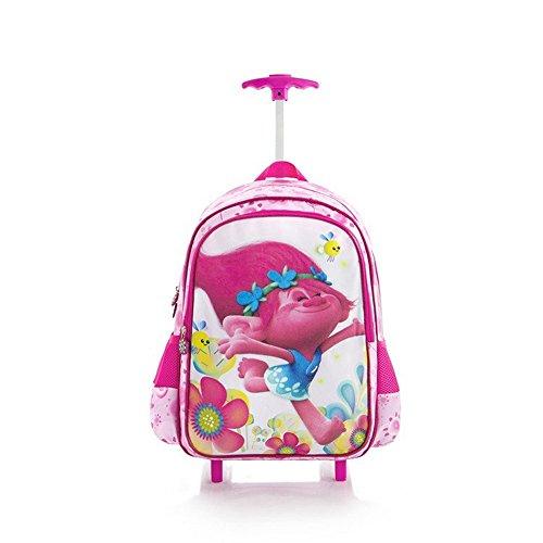 Heys America Unisex DreamWorks Trolls Kids Travel Bag Pink Handbag