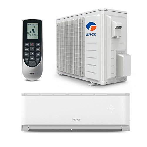 GREE 12,000 BTU 17 SEER LIVO Gen3 Wall Mount Ductless Mini Split Air Conditioner Heat Pump 208/230V – Built-in Wi-Fi