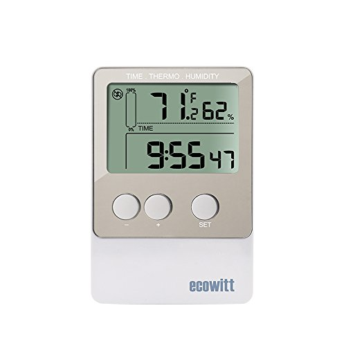 ECOWITT DS102 USB Temperature Humidity Data Logger Recorder 20736 Points with PC Software by ECOWITT