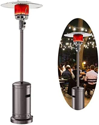 Outdoor Gas Patio Heater Standing Outdoor Heater Propane Gas Portable Commercial Outdoor Heater Stove 46000 BTU.