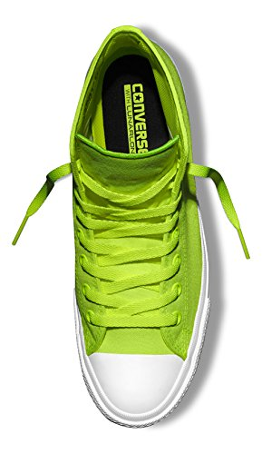 Unisex Taylor – II Green Volt C150157 Alte Star da Ginnastica Verde Grün all White Adulto Converse Sneakers Scarpe Chuck 1qwEx7PA