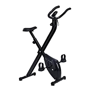 Confidence Fitness Confidence Folding X Bike Black