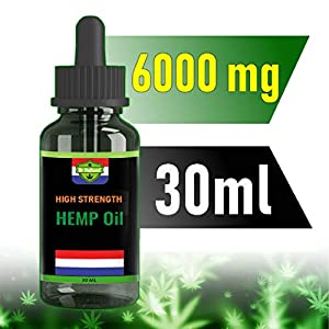 Dr Holland Hemp Oil   6000mg   30ml   Oral Hemp Dr...