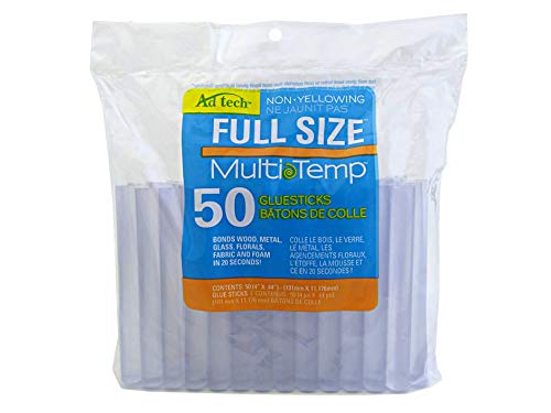AdTech 14ZIP50-CASE Full Size Multi Temp Clear Bulk Glue Sticks