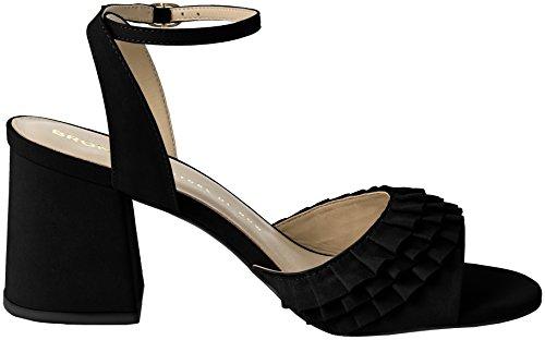 Bronx Vrouwen Bx 1254 Bjaggerx Sandaaltjes Zwart (black)