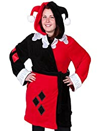f548e603cb Harley Quinn Deluxe Exclusive Adult Robe (L XL)