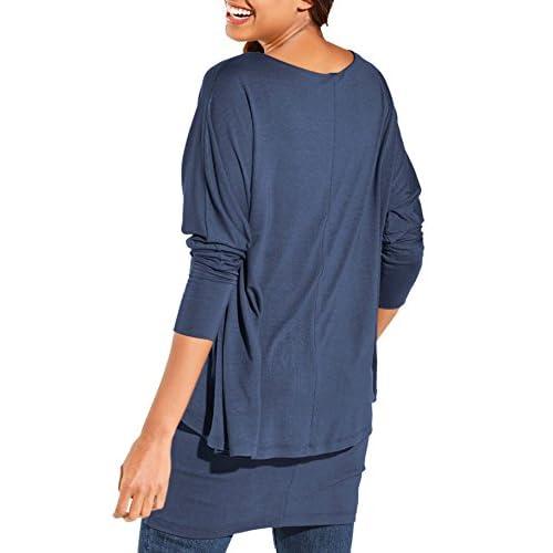Short Stories T-Shirt Top de Pijama para Mujer