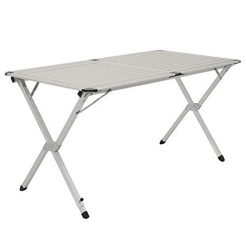 cs-trading CampFeuer – XL aluminium klaptafel/aluminium campingtafel, klaptafel, ca. 140 x 70 x 70 cm