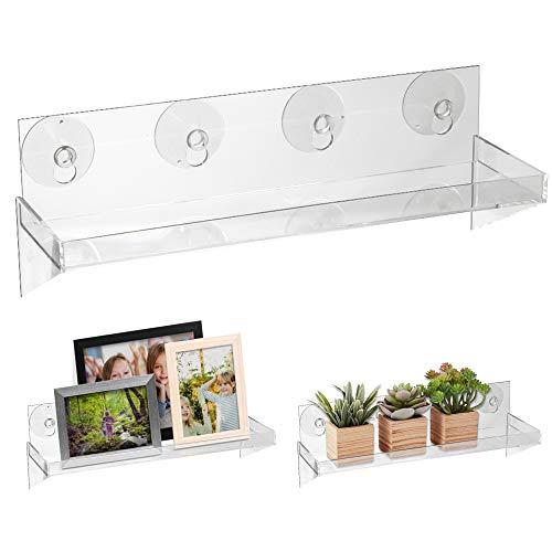 Urban Leaf - Suction Cup Shelf for Plants Window Bathroom or Kitchen -