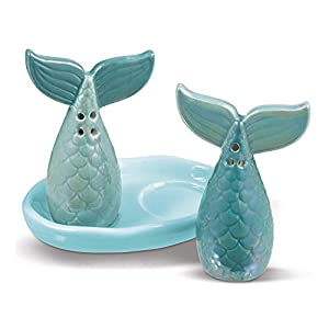 41Mb32Y2MwL._SS300_ Beach & Coastal Themed Salt and Pepper Shakers