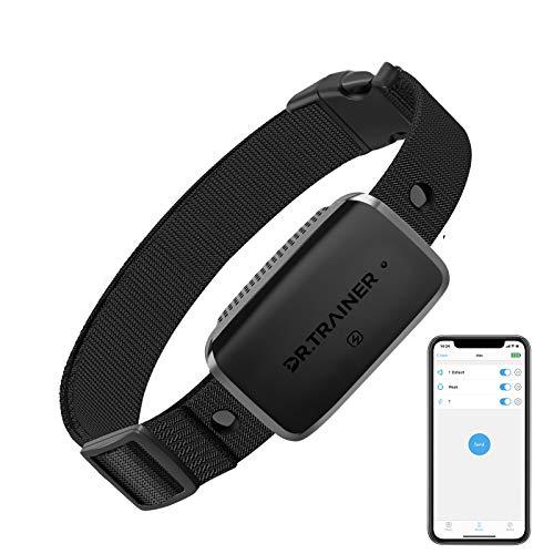 Dr.Trainer B1s Bark Collar with App Control, Dog Bark Collar with Smart Progressive Mode, Automatic Dog Training Collar…