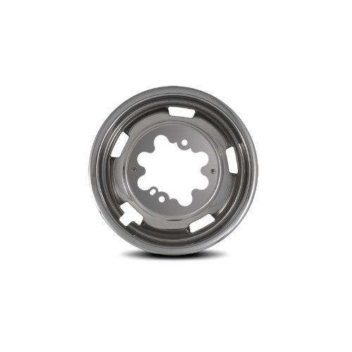 Pacific Dualies 44-1708 Polished 17 Inch 8 Lug Stainless Steel Wheel Simulator Kit for 2003-2019 Dodge Ram 3500 Truck
