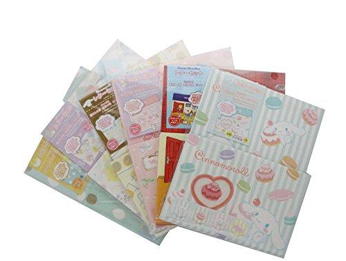 - Sanrio Character Letter 2-pc Set (Hello Kitty-Cinnanmoroll-Gudetama-Little Twin Star-My Melody) -1 set of 2 per order- Randomly Picked. Made in Japan