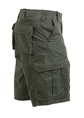 Vintage Drab Mens Olive (Rothco Vintage Paratrooper Shorts, Olive Drab, X-Large)