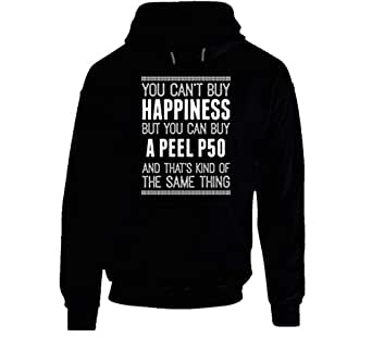 Buy a Peel P50 Happiness Car Lover Hooded Pullover 2XL Black
