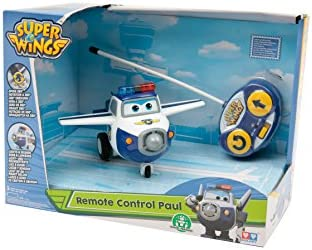 Super Wings Giochi Preziosi Paul Fahrzeug Fernsteuerung