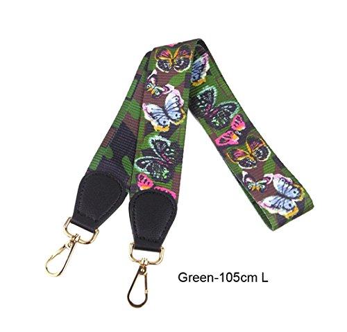 Strap Style 17 Strap Crossbody Canvas Multicolor Purse Color Handbags Replacement for Guitar dxfFqwdTa